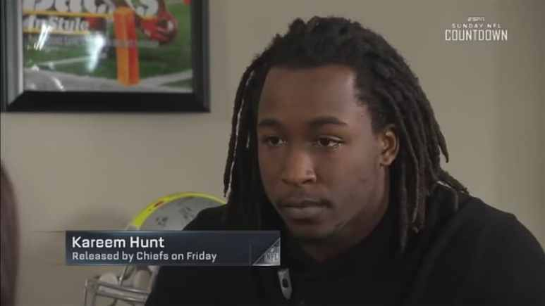 Kareem Hunt to Browns