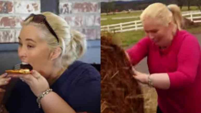 Mama June struggles to control her eating habits and stay in shape on Mama June: From Not To Hot Season 3