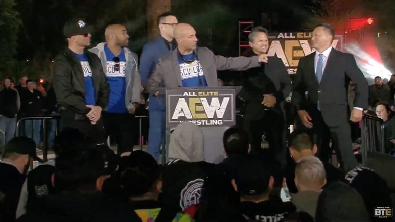 OWE makes an appearance at AEW rally: What is Oriental Wrestling Entertainment?