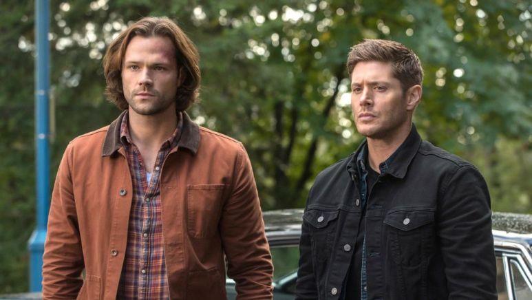 Jared Padalecki (Sam) and Jensen Ackles (Dead) of Supernatural on The CW