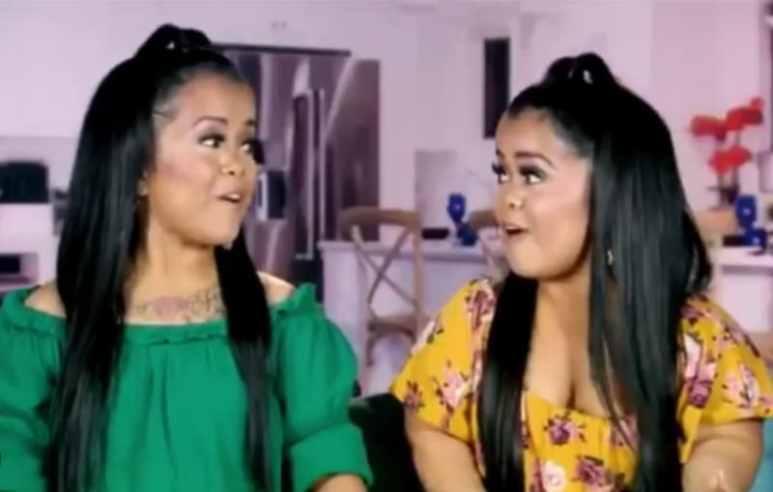 The Tiny Twins, Andrea and Amanda Salinas on Little Women: Dallas
