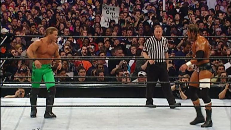 Chris Jericho vs Triple H at WrestleMania X8.