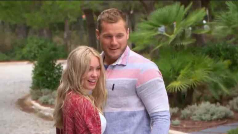 Colton Underwood and Cassie