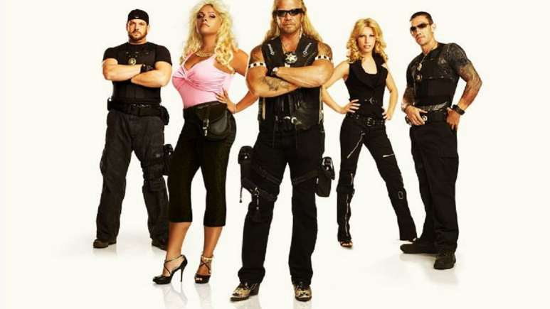 Duane Chapman, Beth Chapman in a promo shot for Dog's Most Wanted