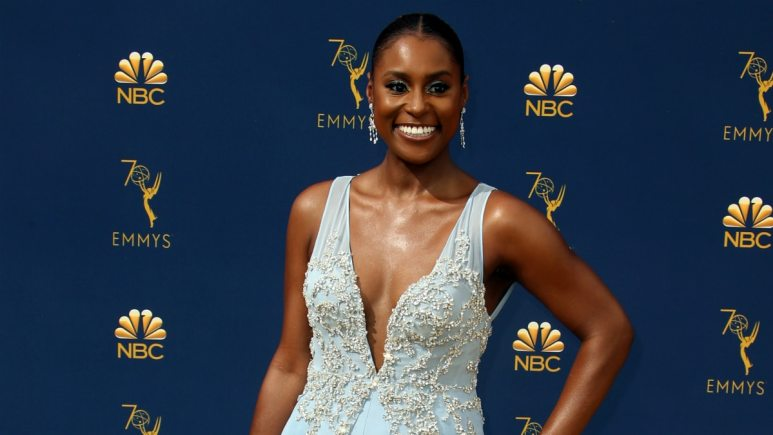 Issa Rae. 70th Primetime Emmy Awards held at Microsoft Theater