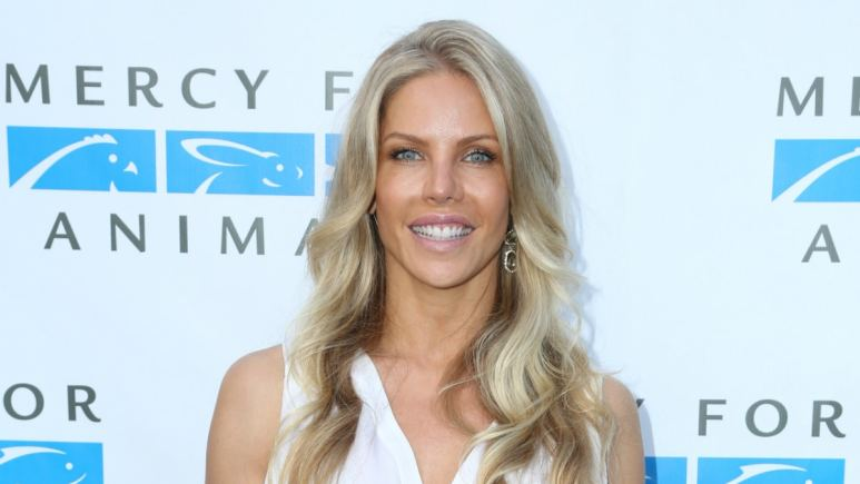 Jessica Canseco at Mercy for Animals Free to Be Event.