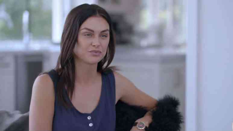 Lala Kent talking with Tyler Henry on Hollywood Medium with Tyler Henry