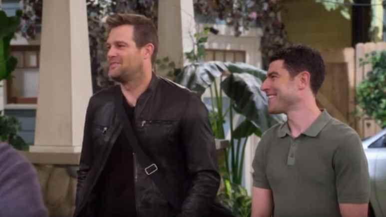 Geoff Stults and Max Greenfield on The Neighborhood cast