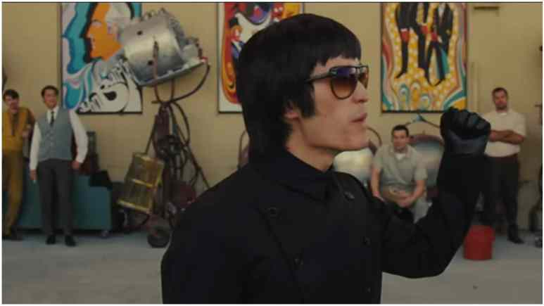 Who plays Bruce Lee in Once Upon a Time in Hollywood?