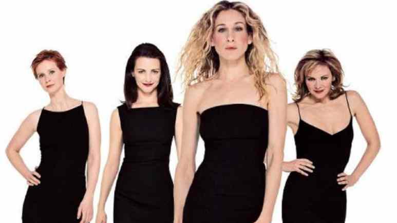 Sex and the City's Sarah Jessica Parker, Kim Cattrall, Kristin Davis and Cynthia Nixon.