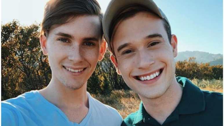 Tyler Henry and Clint Godwin