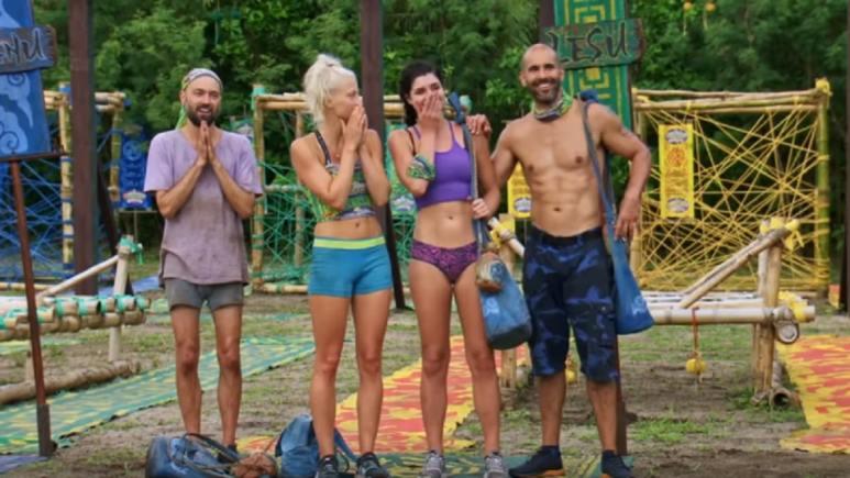 Wardog and Lesu tribe on Survivor 38