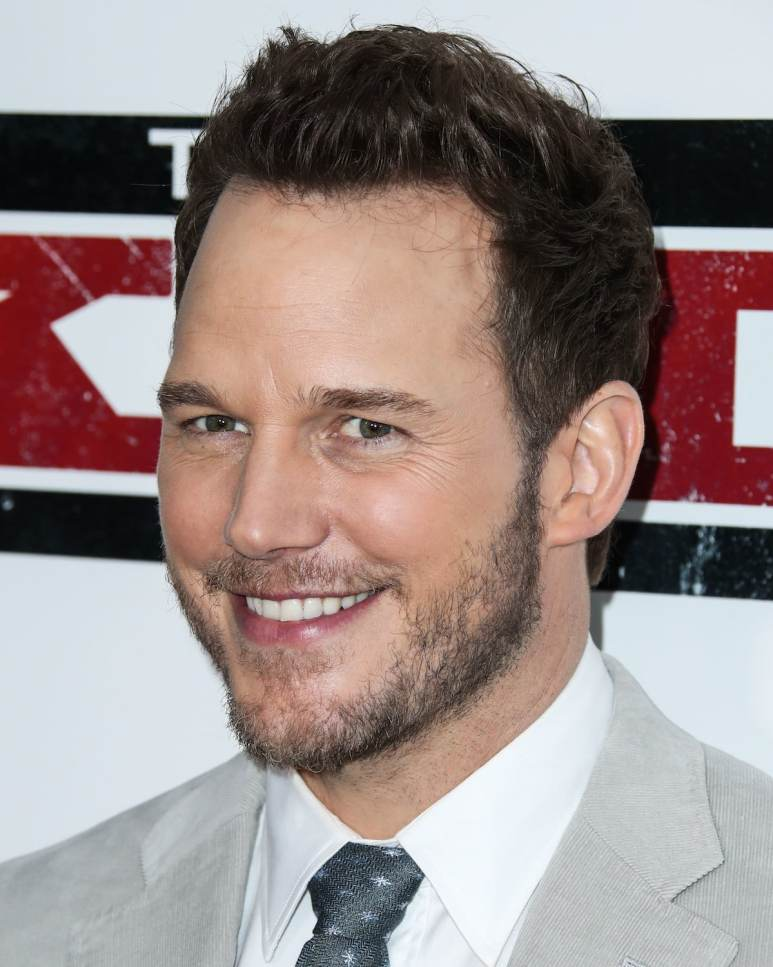 Chris Pratt smiling