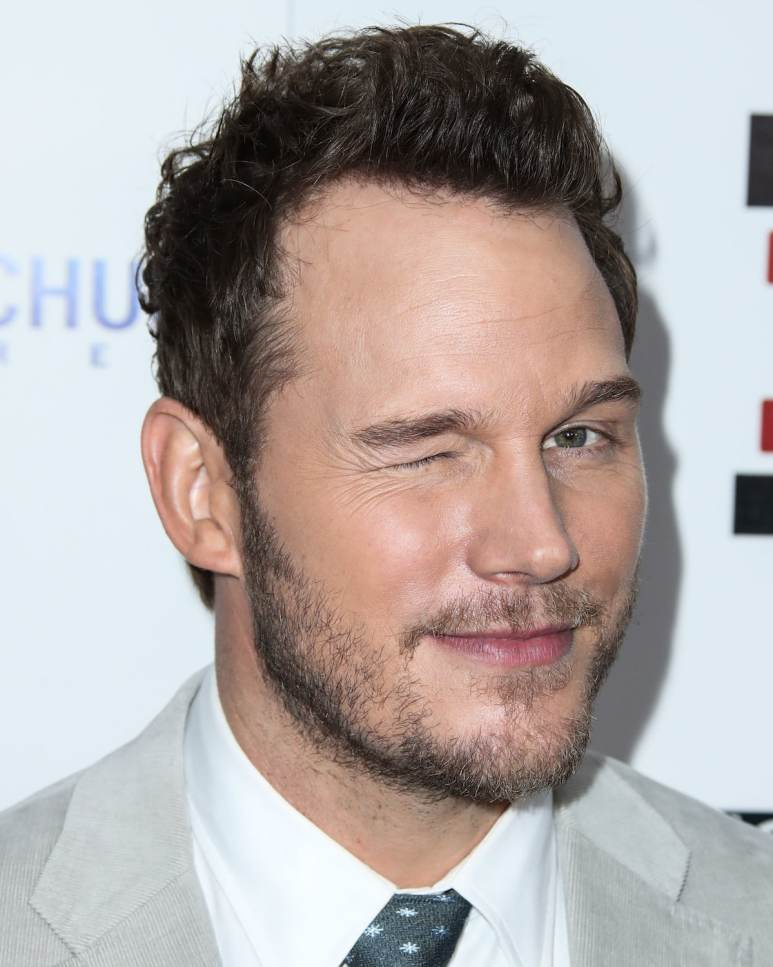 Chris Pratt winking