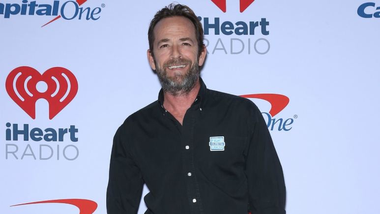 Luke Perry. 2018 iHeartRadio Music Festival at T-Mobile Arena.