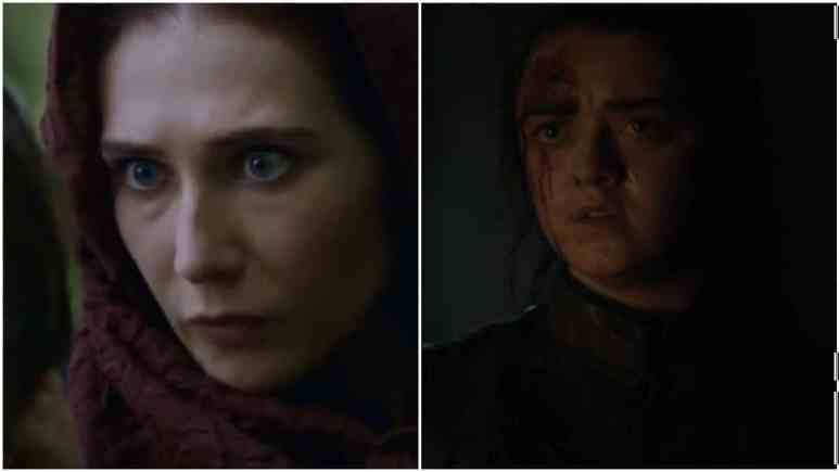 Game of Thrones episode 3 arya and red woman