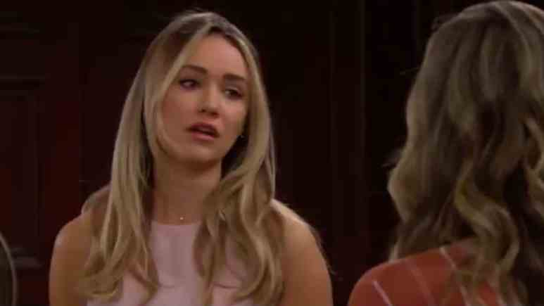 Katrina Bowden as Flo on The Bold and the Beautiful