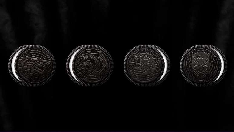 Game of Thrones-themed Oreos