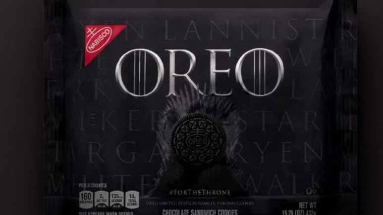 Game of Thrones-inspired Oreo cookies packaging