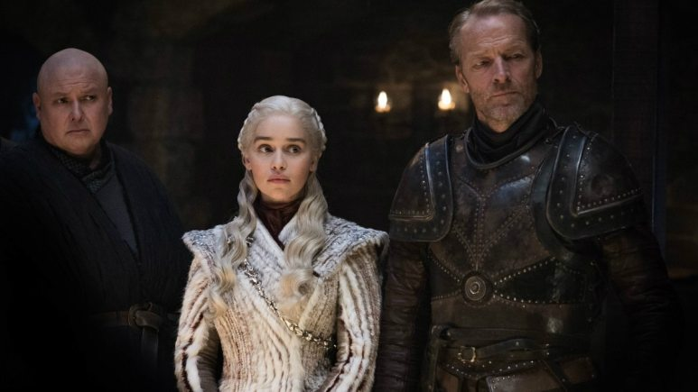 HBO's 'Game of Thrones' Season 8, Episode 2, Varys Daenerys Targaryen, Jorah Mormont
