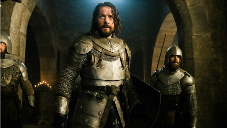 Pádraic Delaney stars as Gawain in Episode 4 of History Channel's Knightfall Season 2