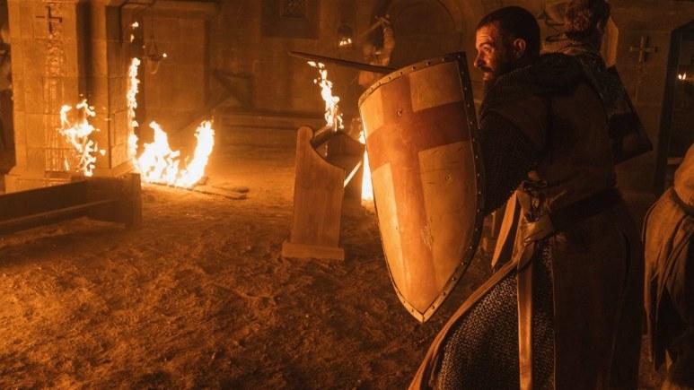 Tom Cullen stars as Landry in Episode 4 of History Channel's Knightfall Season 2