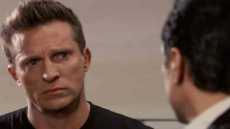 Steve Burton as Jason Morgan on General Hospital.