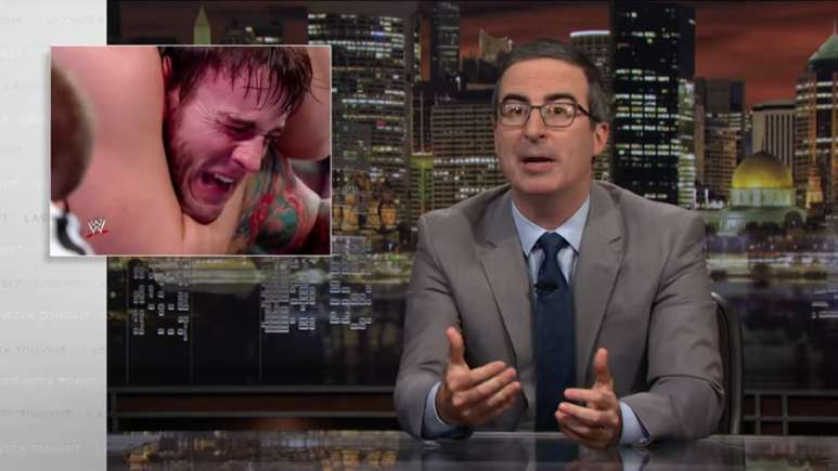 John Oliver attacks WWE on Last Week Tonight, WWE and CM Punk respond