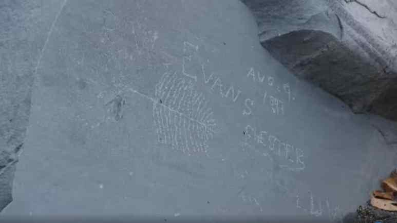 Symbol found on The Curse of Oak Island