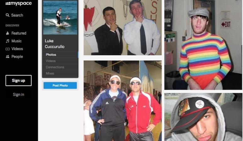 Luke Cuccurullo on MySpace