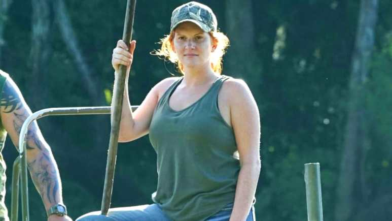 Ashley Jones is a sidewinder the Swamp People cast has needed for a while. Pic credit: History