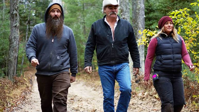 Marty, Matt and Misty are back on Discovery in their bid to help fellow homesteaders. Pic credit: Discovery