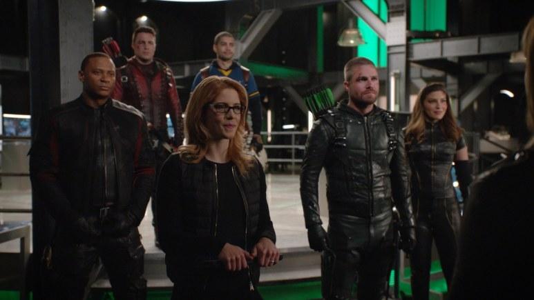 Team Arrow Assembles in the seventh season finale