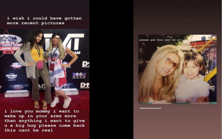 Ashley Massaro tributes by her daughter
