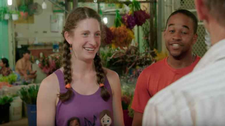 "Rebecca ""Becca"" Droz and Floyd Pierce on The Amazing Race"