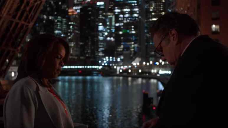 Paula Newsome and Oliver Platt on Chicago Med cast
