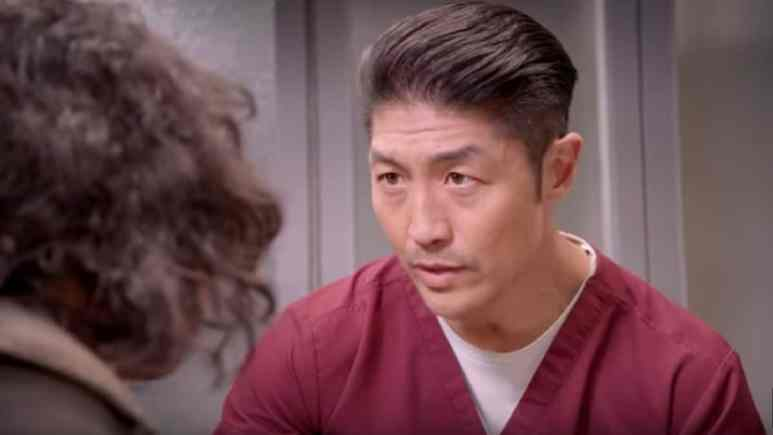 Brian Tee as Dr. Choi on Chicago Med cast