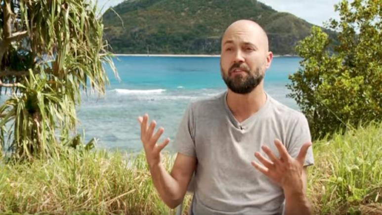 David Wright on Survivor: Edge of Extinction