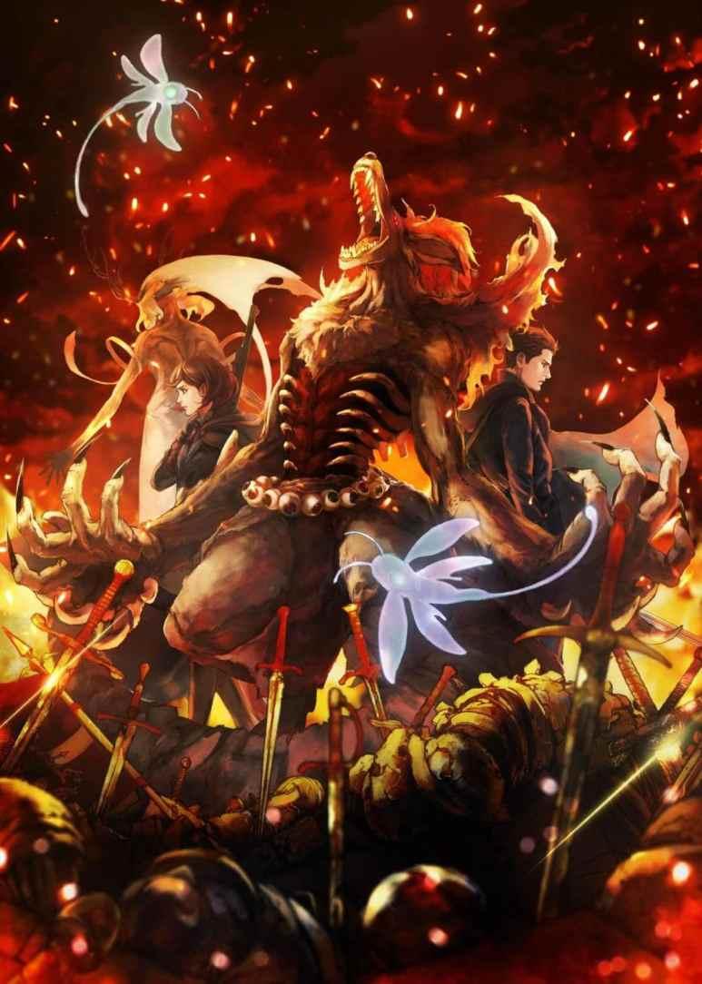 Fairy Gone Anime PA Works Original Art