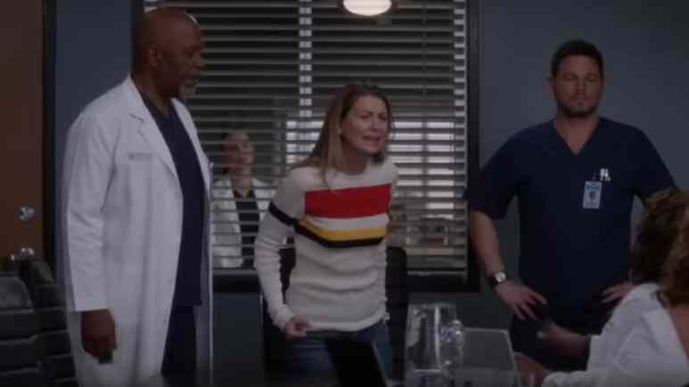 Grey's Anatomy cast during season finale