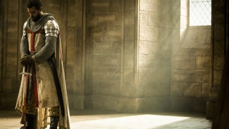 History Channel's 'Knightfall,' Tom Cullen stars as Landry