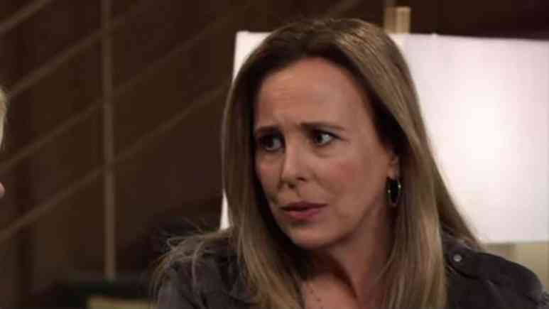 Genie Francis as Laura Collins on General Hospital.
