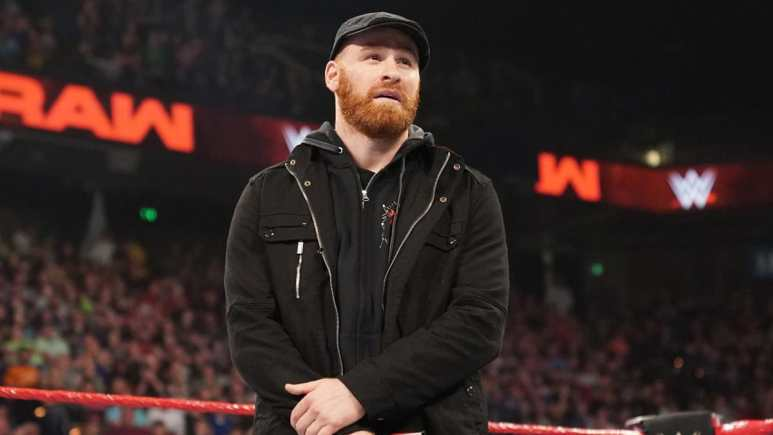 Sami Zayn name drops AEW on WWE Monday Night Raw