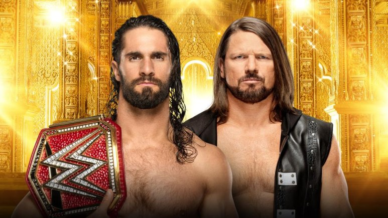 Universal Champion Seth Rollins vs. AJ Styles