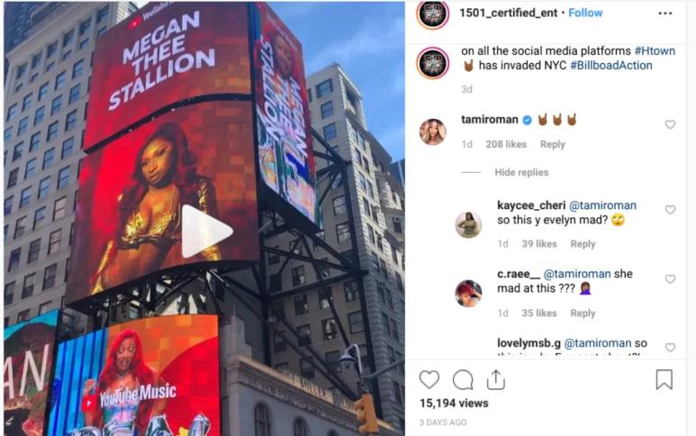 Tami Roman comments on Carl Crawford's post