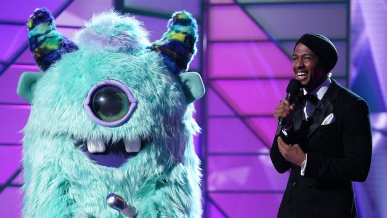 The monster with Nick Cannon on The Masked Singer