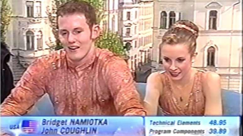 Bridget Namiotka and John Coughlin
