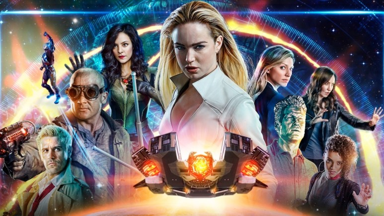 The Legends of Tomorrow season 4 line-up.