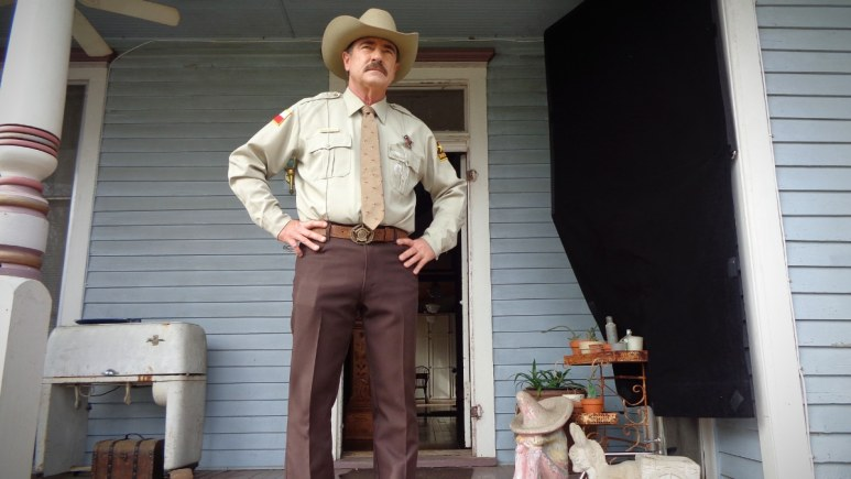Sheriff Smith will find you if you do wrong in Texas, make no mistake. Pic credit: ID