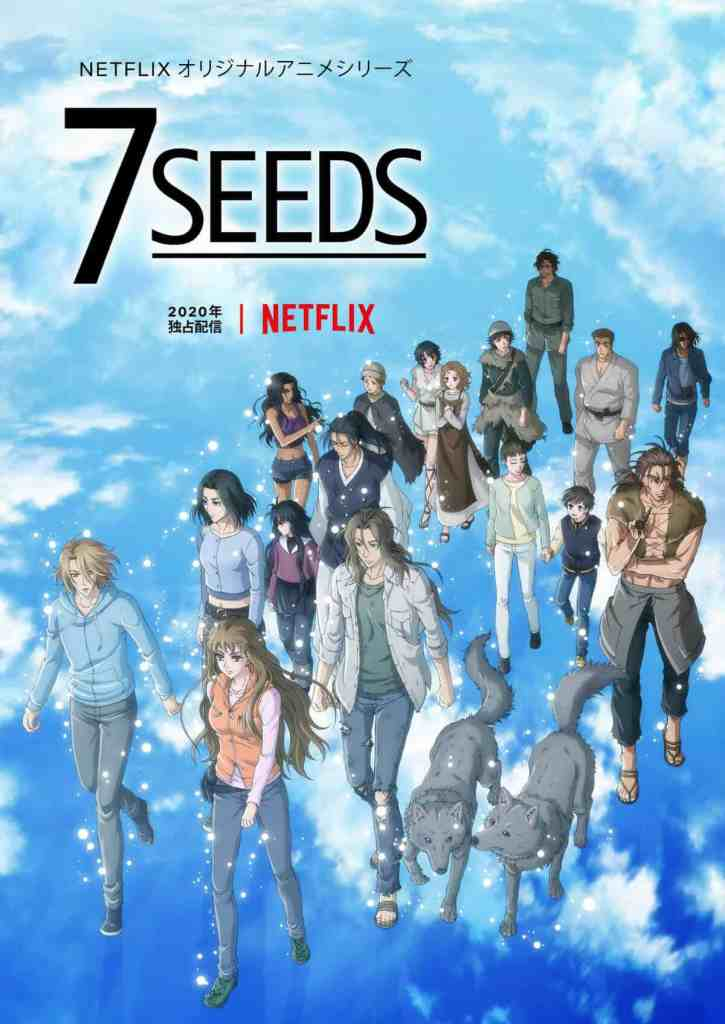 7 SEEDS Season 2 Poster Key Visual Art
